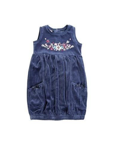 Asymmetry Prenatal Mavi Elbise Mavi